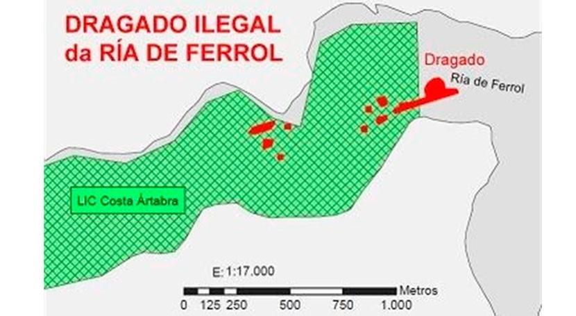 Investigan 4 exaltos cargos Xunta autorización dragado Ría Ferrol
