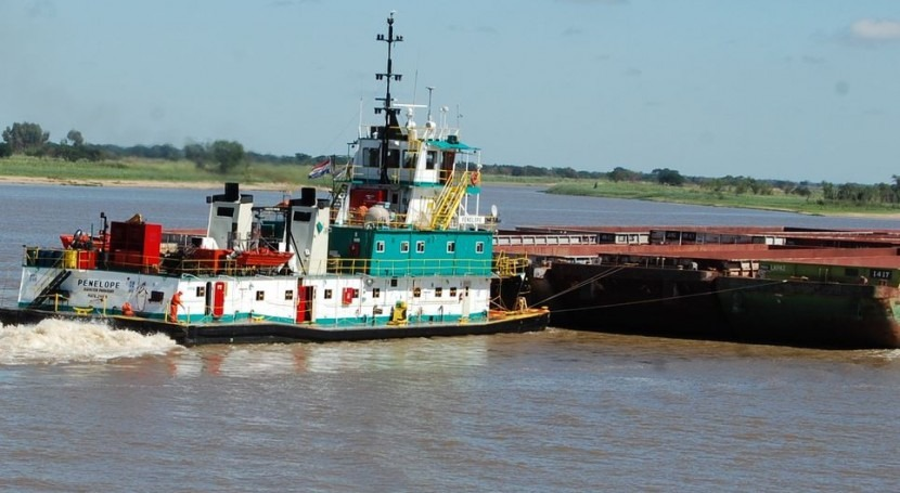 Comisión Permanente Transporte Cuenca Plata apoya dragado río Paraguay