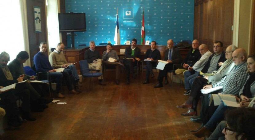 14ª reunión Comisión Interinstitucional Prevención Inundaciones Urumea