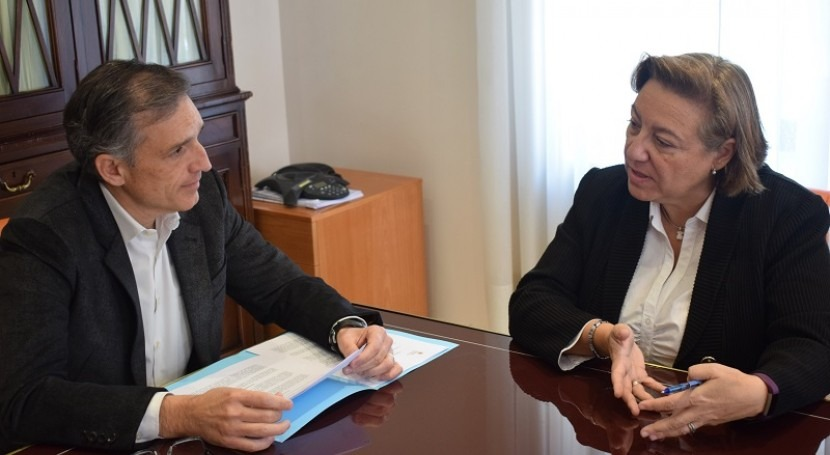 UMH y Dinapsis firman convenio colaboración impulso empresas y emprendedores