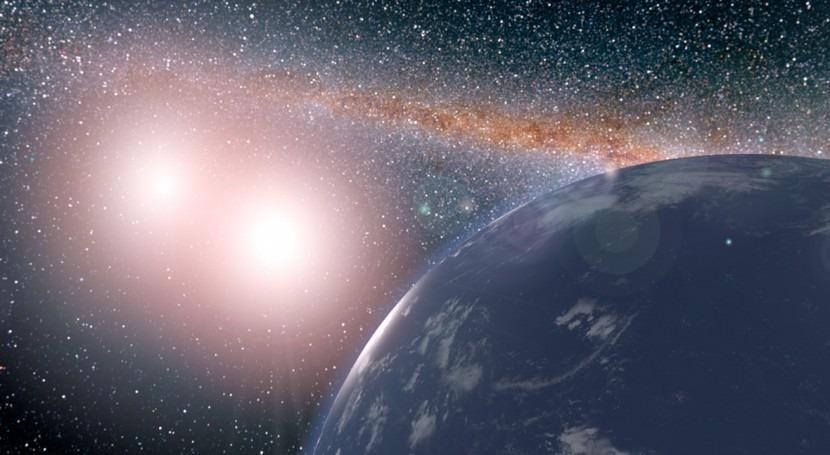 Planetas 2 soles y tamaño terrestre podrían ser habitables presencia agua