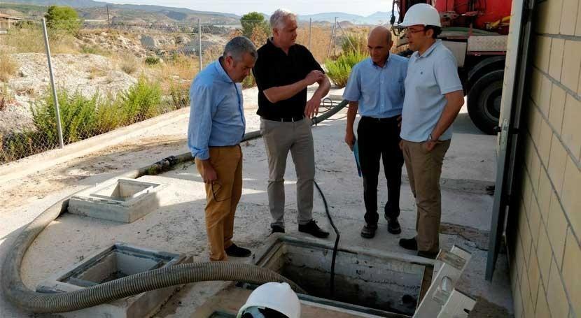 Comienzan obras mejora estación bombeo aguas residuales Albudeite