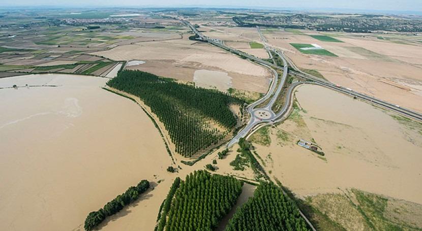 Río Ebro en Castejón