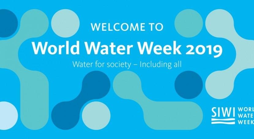 World Water Week 2019, apuntes Estocolmo