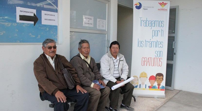 Gobierno Ecuador simplifica trámites acceso al agua