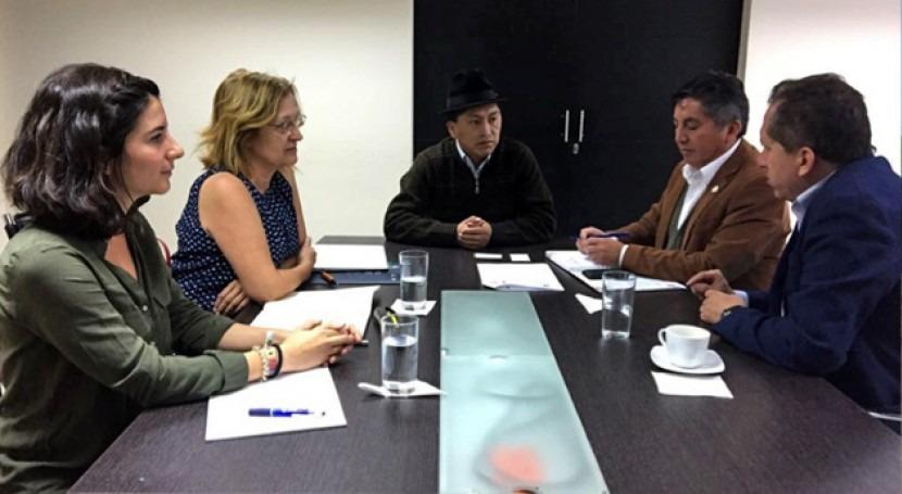Colaboración IMDEA Agua y Secretaría Nacional Agua Ecuador
