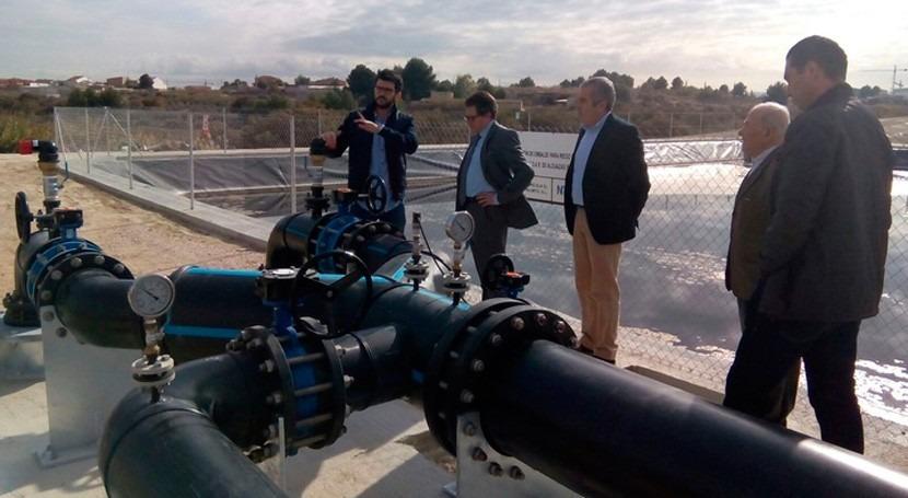EDAR Alguazas pondrá disposición regantes más millón m3 agua regenerada