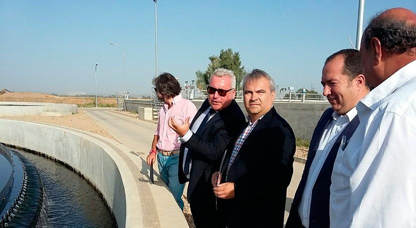 marcha obras EDAR Badajoz