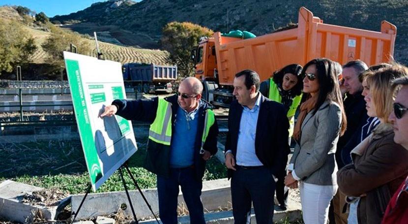 Andalucía inicia remodelación EDAR Cañete Real