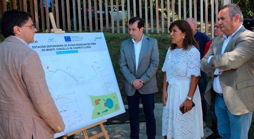 redacción proyecto infraestructuras hidráulicas Cospeito concluirá finales año