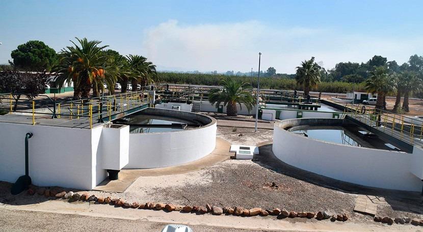 Licitado control obras saneamiento y depuración Montijo-Puebla Calzada