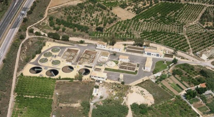 Estación Depuradora de Aguas Residuales de Altea (fuente: EPSAR)