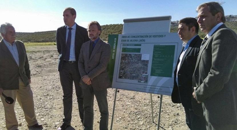 Andalucía invierte 9,6 millones euros depuradora Arjona