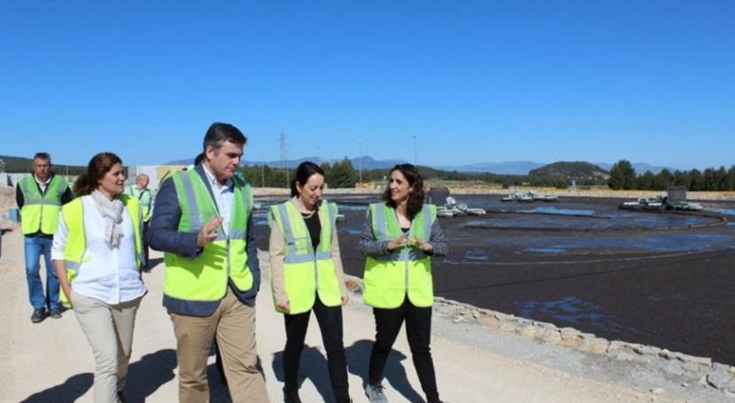ampliación EDAR Bullas permitirá tratar 166,67 m3 hora aguas residuales