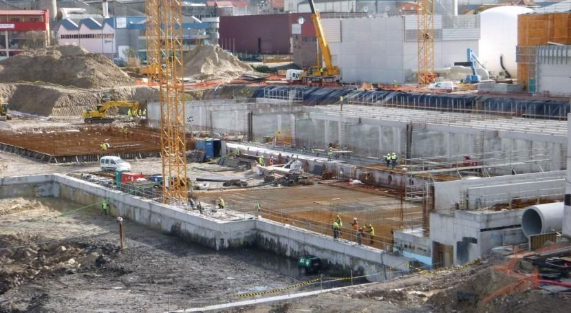 Obras de la nueva EDAR de Lagares en Vigo