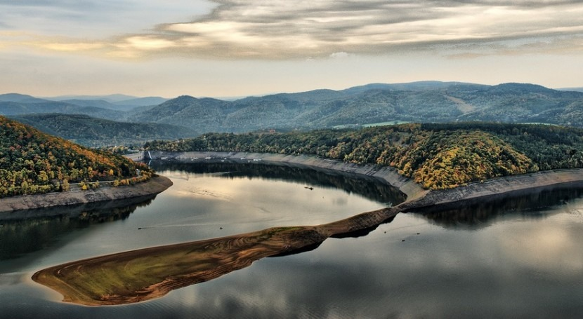 Lago Edersee. Geerd-Olaf Freyer en Flickr (CC)