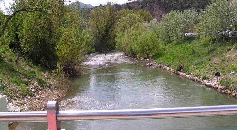 CHE adjudica trabajos adecuación río Ega provincias Álava y Navarra