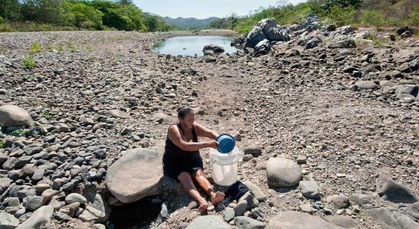 Nicaragua, agua es cosa mujeres