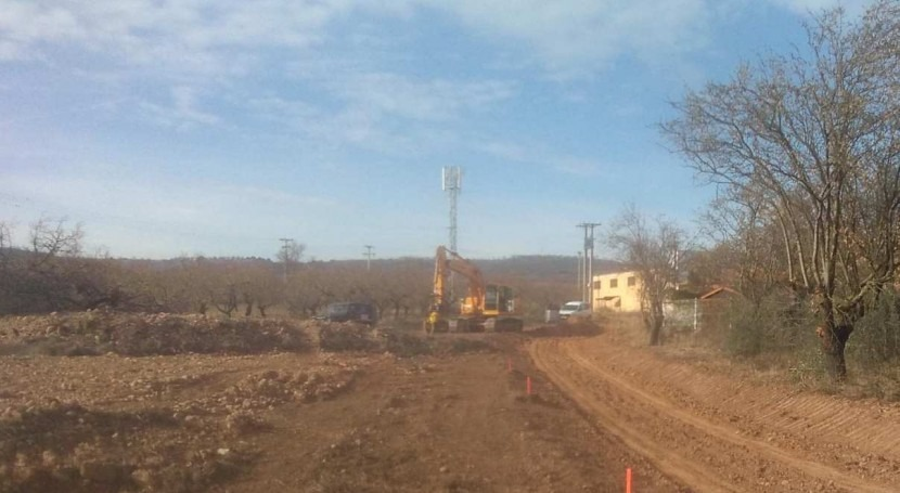 CHE mejora confluencia dos barrancos Villar Arnedo ( Rioja)