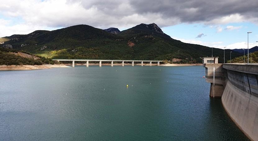 Fijada reserva cerca 200 hm3 agua satisfacer demandas Ter Llobregat
