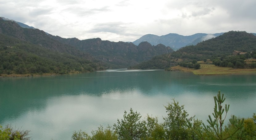 embalses cuencas catalanas terminan verano 85% capacidad