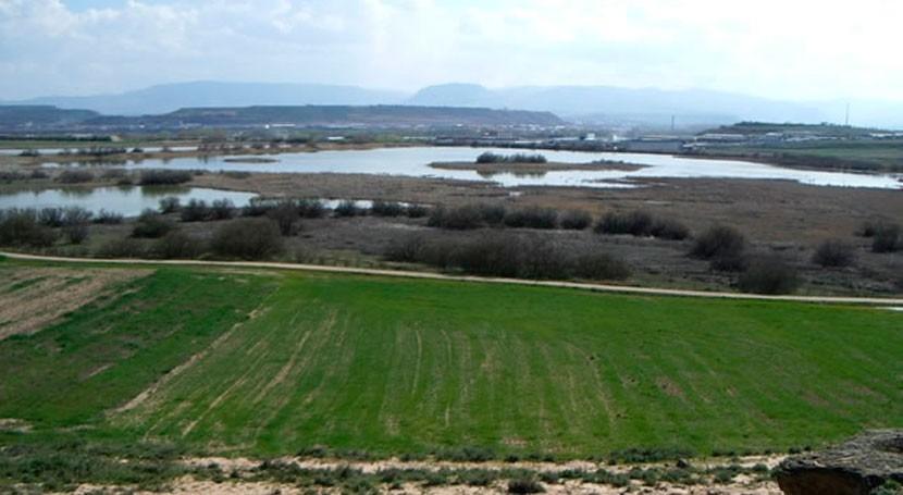 Navarra suma dos ZEC más Embalse Cañas y Estanca Dos Reinos