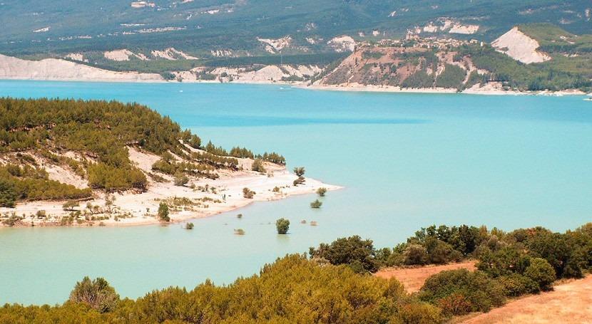 ladera presa Yesa se sigue deslizando cuatro años después, Yesa+No y Río Aragón