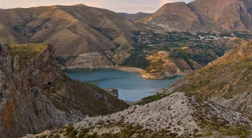reserva hidráulica española desciende al 55,6% capacidad total