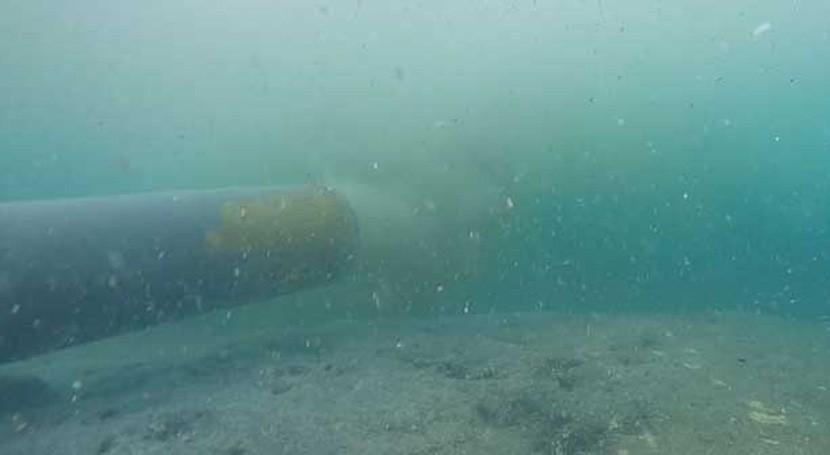 ruptura emisario submarino San Andrés, Colombia, no representa riesgo turistas