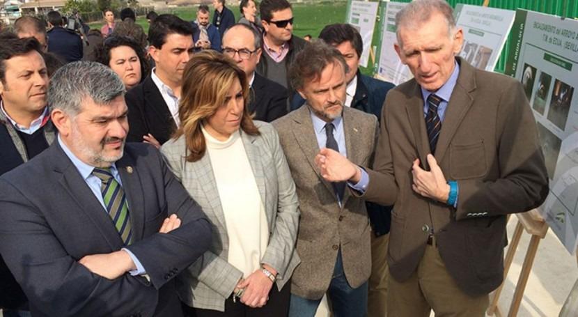 nuevo encauzamiento arroyo Argamasilla protegerá Écija futuras riadas