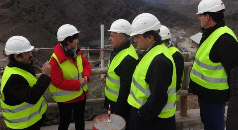 obras embalse enciso Rioja superan ya 72,5% grado ejecución