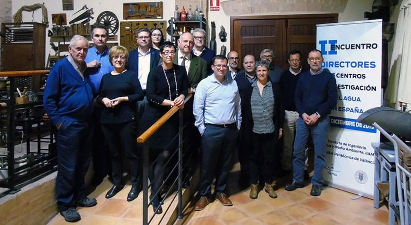 """Es necesario constituir red o plataforma I+D+i sector agua España"""