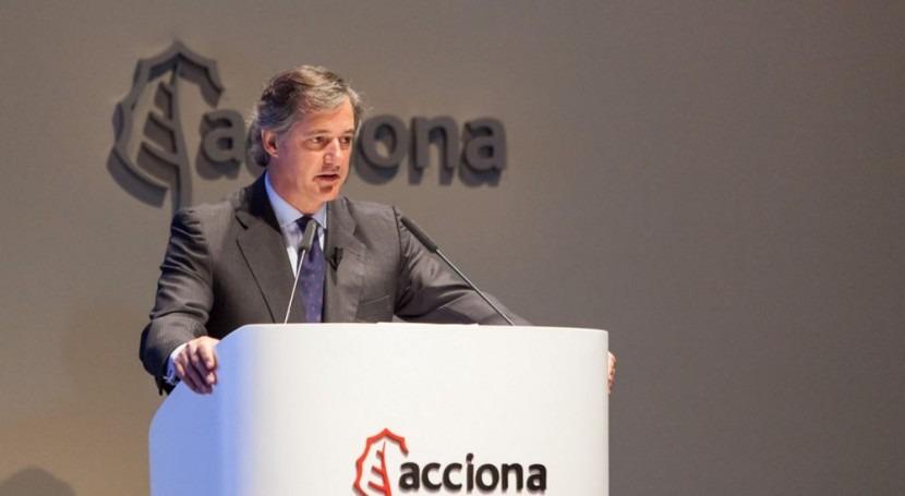 Acciona invertirá más 2.000 millones euros renovables 2020