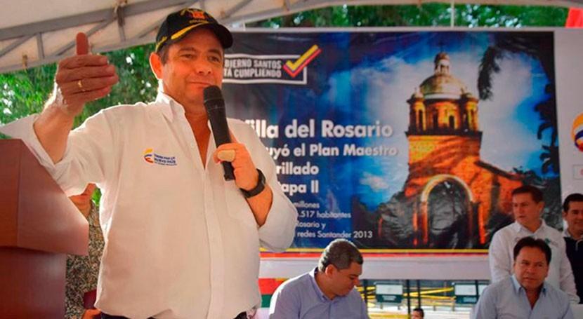 plan alcantarillado Villa Rosario Colombia beneficiará 136.000 habitantes