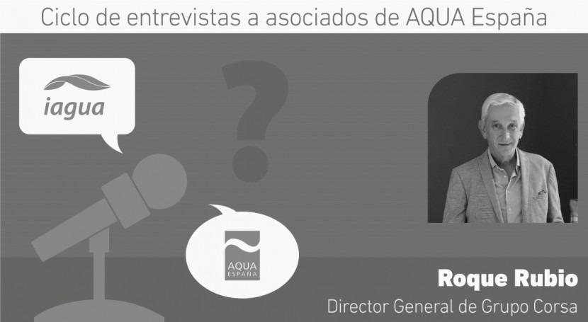 """Roque Rubio: """"Estar AQUA ESPAÑA es importante defender intereses empresariales"""""""