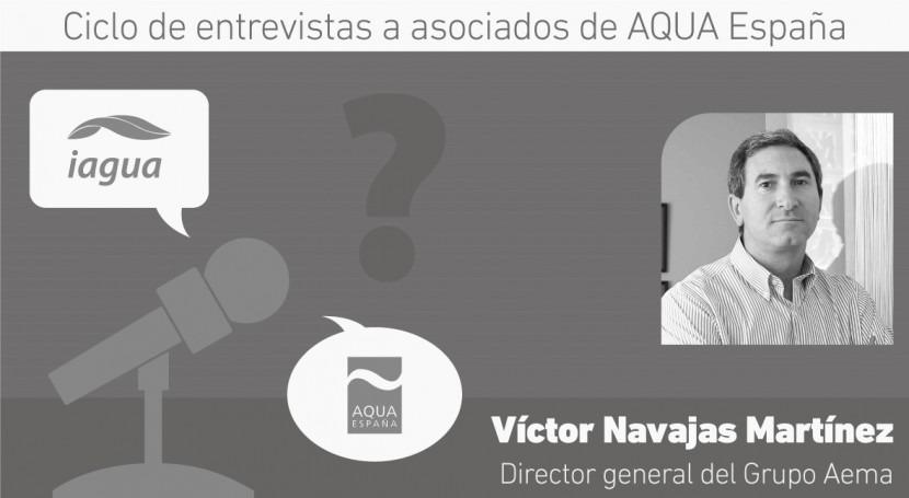 """Víctor Navajas: """"Pertenecer Aqua España permite estar más conectados e informados"""""""