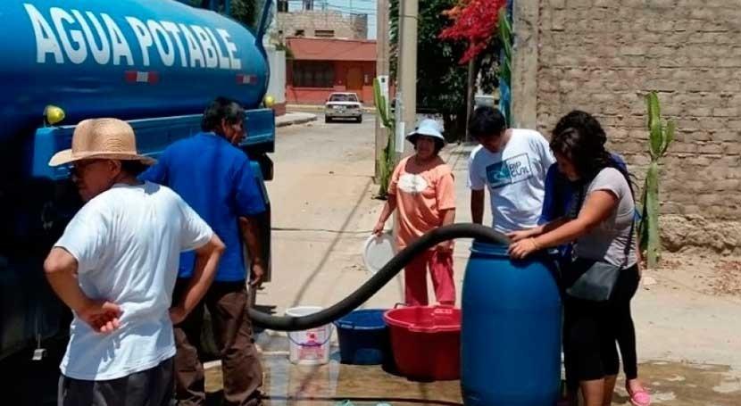 SUNASS exhorta priorizar dotación agua uso poblacional Tacna