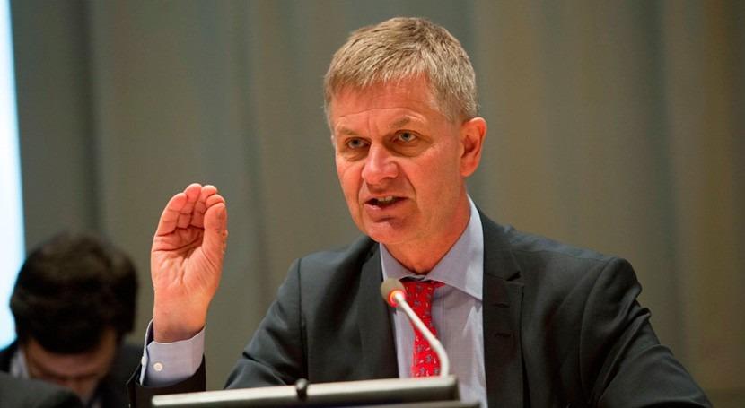 Erik Solheim, nuevo director ejecutivo Programa ONU Medio Ambiente
