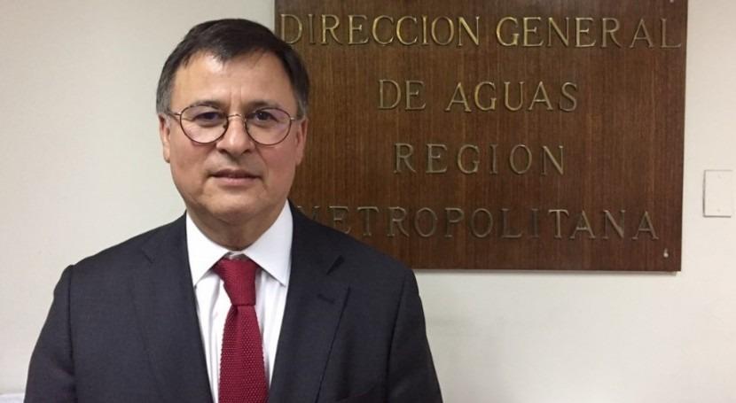 Ernesto Ríos, nuevo Director Aguas Región Metropolitana Chile