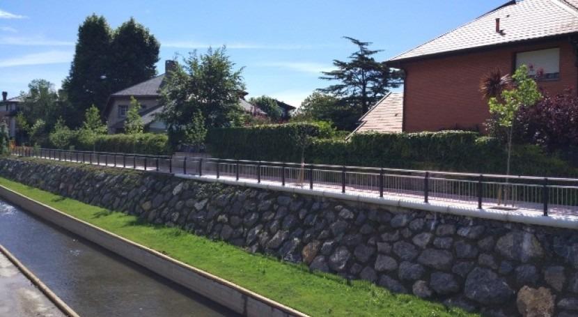 URA reabre mañana paseo margen izquierda Río Gobela Errekagane y Etxezuri-Getxo
