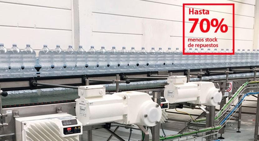 VLT® FlexConcept® forma parte fábrica inteligente Nestlé Waters