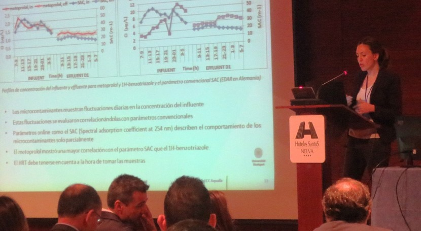 innovaciones Aqualia control contaminantes emergentes, jornadas ESAMUR
