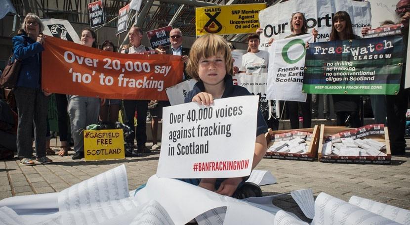 Escocia se suma lista países que prohíben fracking