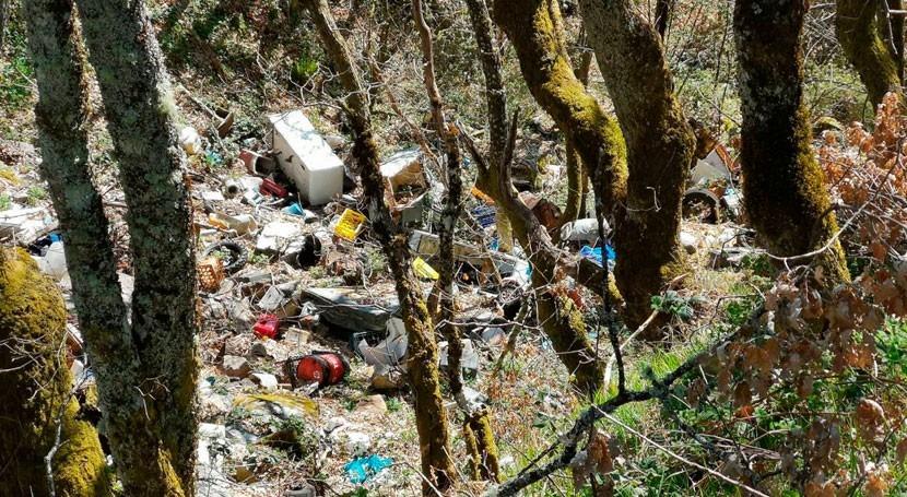 mayor parte espacios naturales España, afectados contaminación difusa