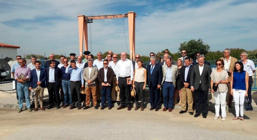 Gobierno central visita zona regable Genil–Cabra