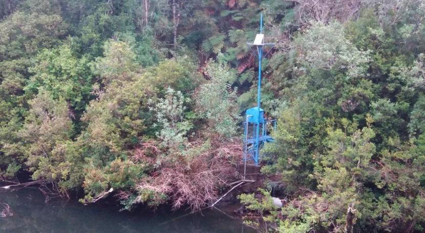 Chile optimiza red hidrometeorológica Aysén