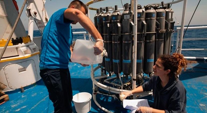¿Pueden masas agua más profundas Mediterráneo atravesar estrecho Sicilia?