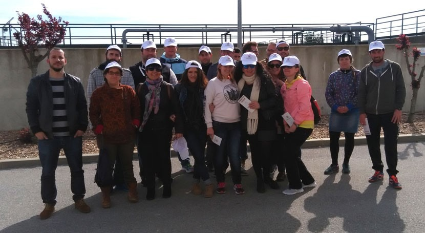 Estudiantes Badajoz participan taller sensibilización agua como eje central