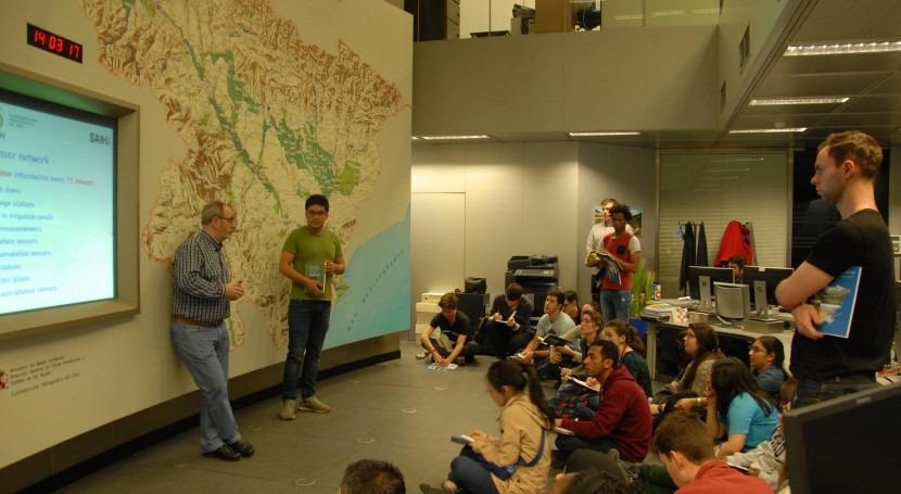 Máster Gestión Agua Universidad Oxford estudia cuenca Ebro CHE