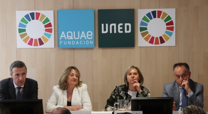 Cátedra Aquae presenta estudio que universidades reduzcan agua y energía